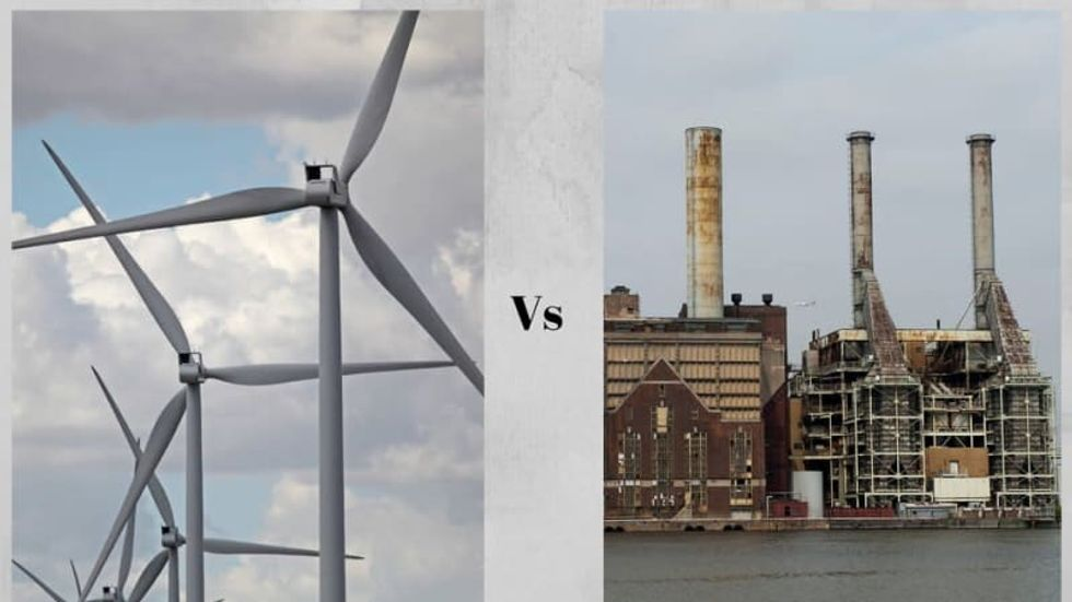 We're a former coal company and we support governor's plan to transition to 100% clean energy