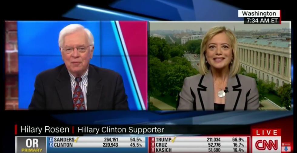 Clinton ally unloads on Bernie Sanders: 'Instead of taking it like a man, he's working the refs'