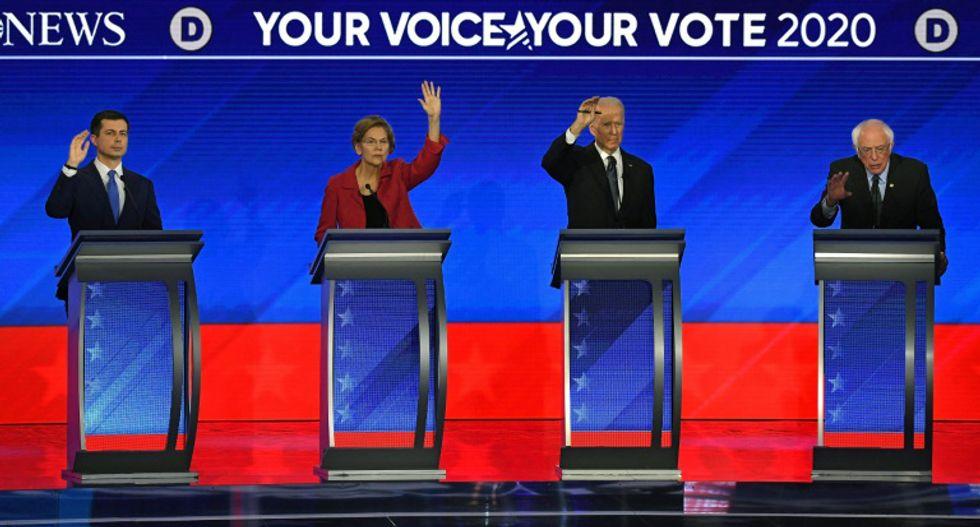 Generational clash as Pete Buttigieg and Bernie Sanders battle in Democratic debate