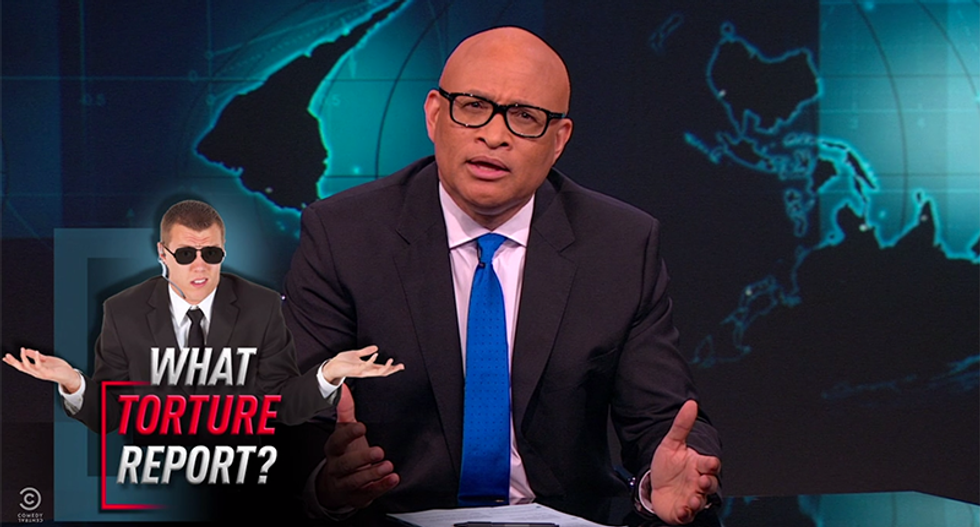 Larry Wilmore shreds CIA for 'accidentally destroying' torture report: 'F*ck you, this is bullsh*t'