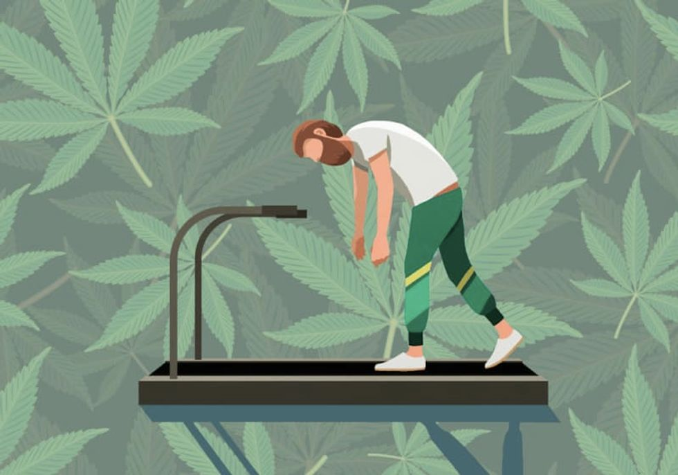 Can you really sweat out THC? The science behind exercise and weed