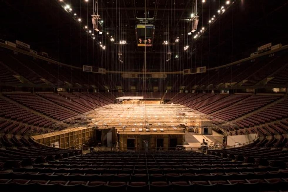 Closed for years, the legendary arena in the Meadowlands has found a new purpose
