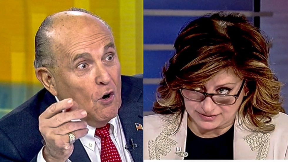'I'm very angry': Rudy Giuliani rages at 'backstabber' John Bolton in Fox News meltdown