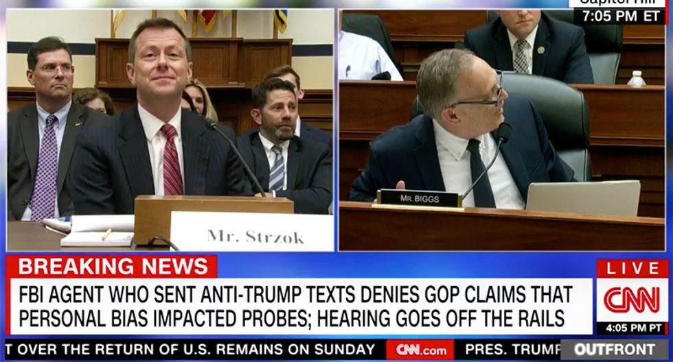 Strzok hearing finally spirals into 'You're out of order' -- 'No, you're out order!' chaos after chairman cuts off agent's answer
