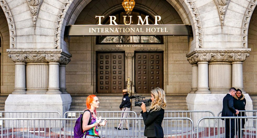 Federal judge dismisses Dems request for records on Trump's Washington hotel