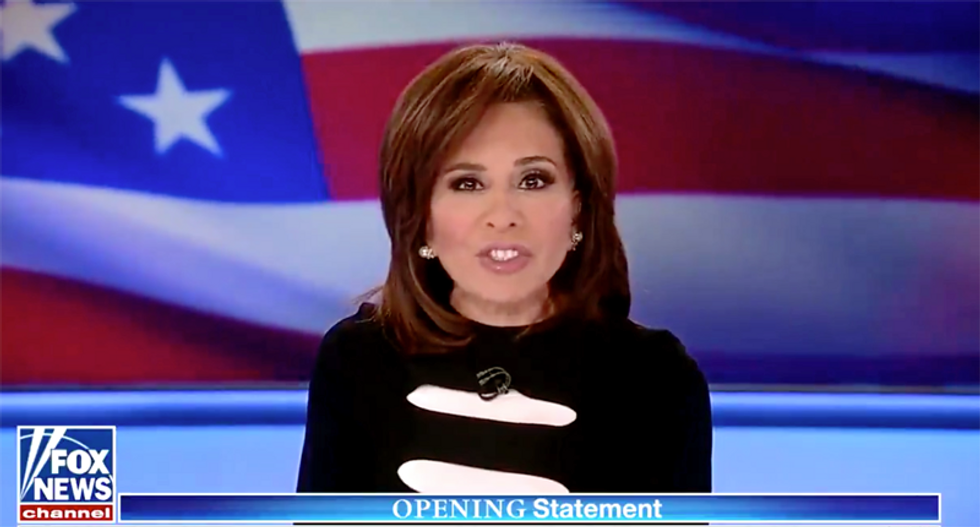 Fox News' Jeanine Pirro mocked for 'wine-fueled attacks' on Mitt Romney: 'Lots and lots of Franzia'