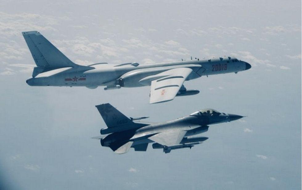 Chinese military aircraft cross into Taiwan airspace: Taipei