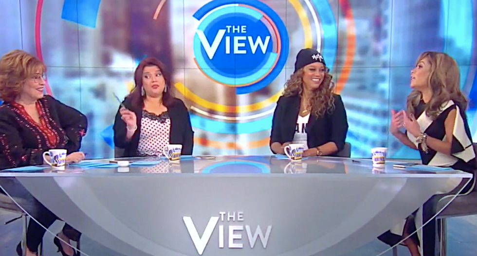 The View slams Susan Collins for letting Trump cheat: 'If he gets another four years — what is he going to do?'