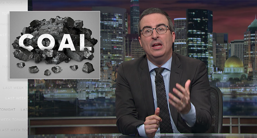John Oliver crushes Trump's lies to coal miners: 'Stop telling them that their jobs are coming back!'