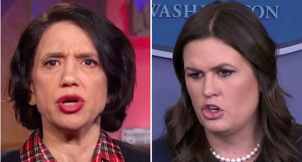 Conservative columnist Jennifer Rubin calls for total 'shunning' of 'liar' Sarah Sanders after she leaves White House
