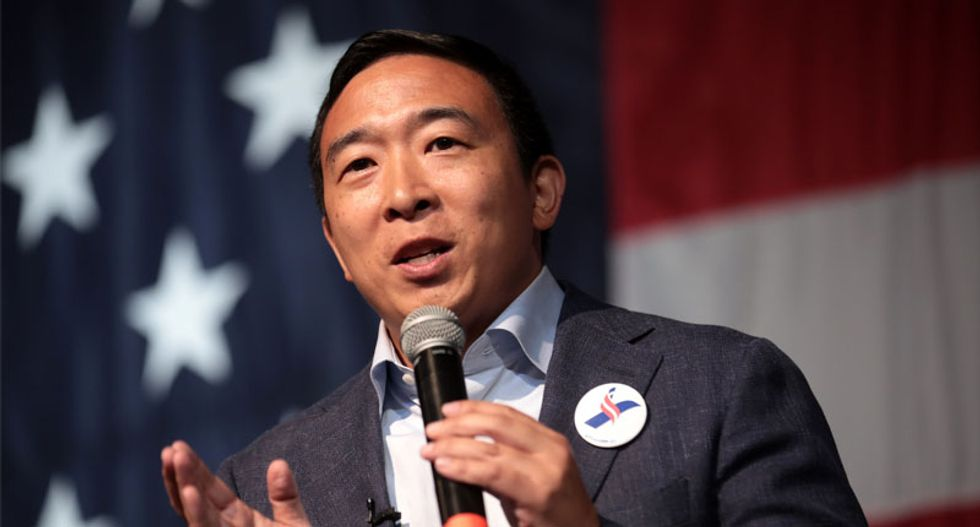 Andrew Yang suspended his presidential bid after polls closed in New Hampshire's primary