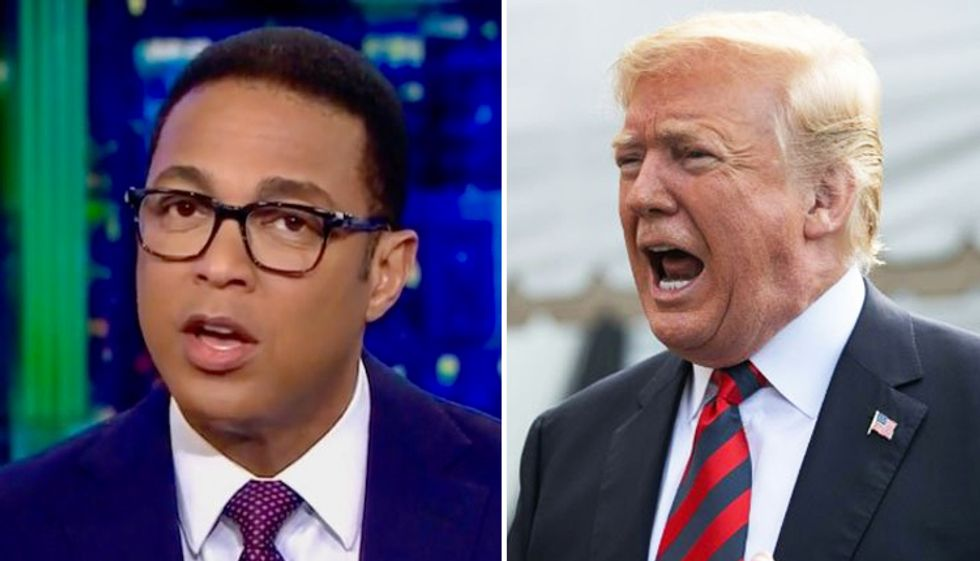MSNBC panel taunts Donald Trump for hate-watching CNN: 'He's amusingly obsessed with Don Lemon'