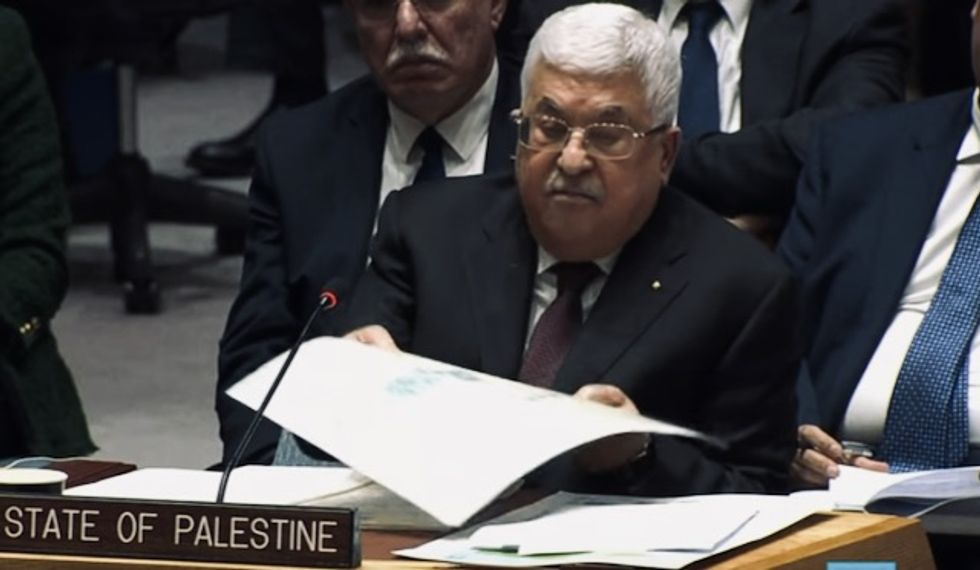 Abbas blasts Trump's 'Swiss cheese' plan for Palestine in UN speech