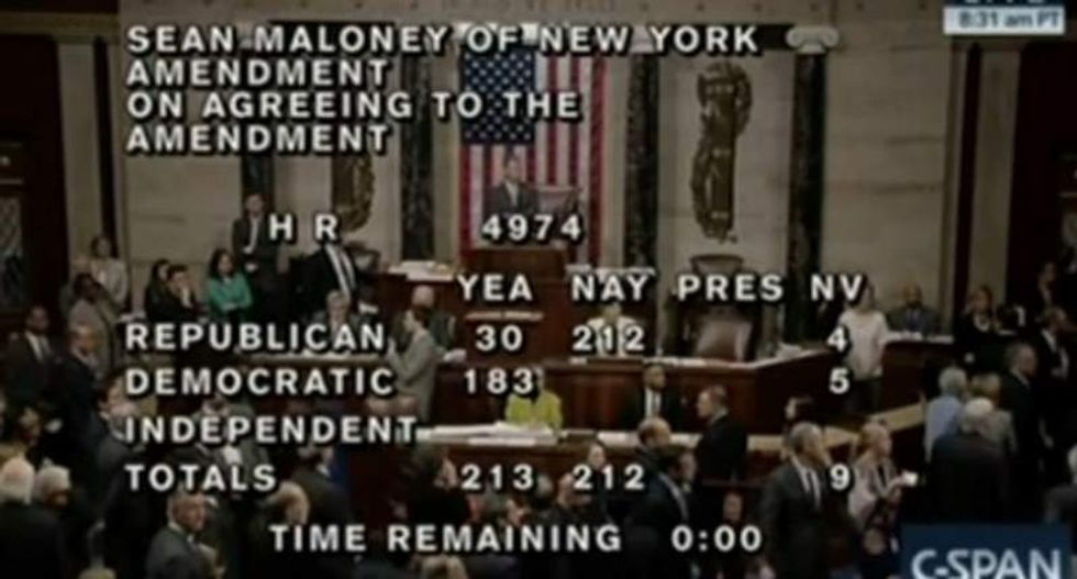 House Dems yell 'shame, shame' after Republicans block bill protecting LGBT federal workers