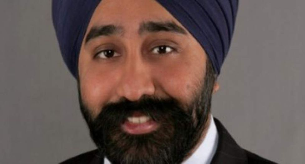 New Jersey city defends Sikh official after Trump-loving Twitter troll calls him a 'terrorist'