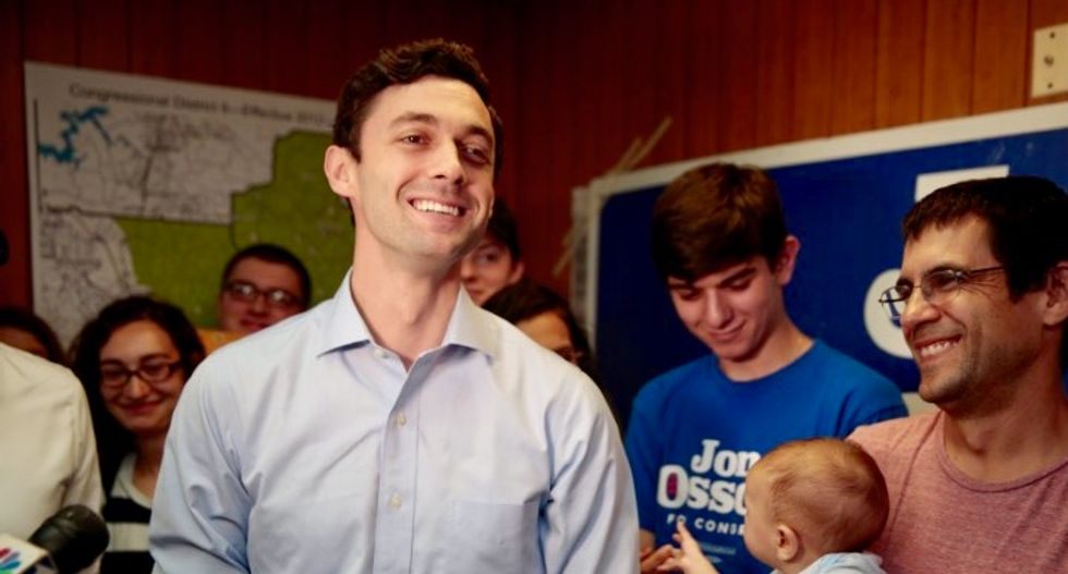 In Georgia, costliest US House race hits ugly note as election looms