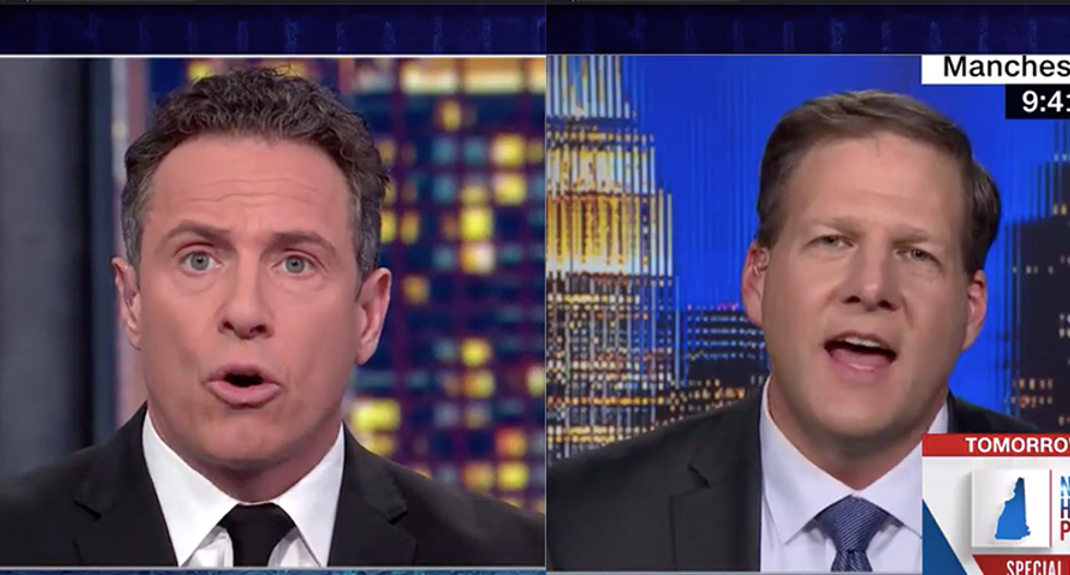 WATCH: Republican goes down in flames when CNN's Cuomo corners him on Trump's trade war