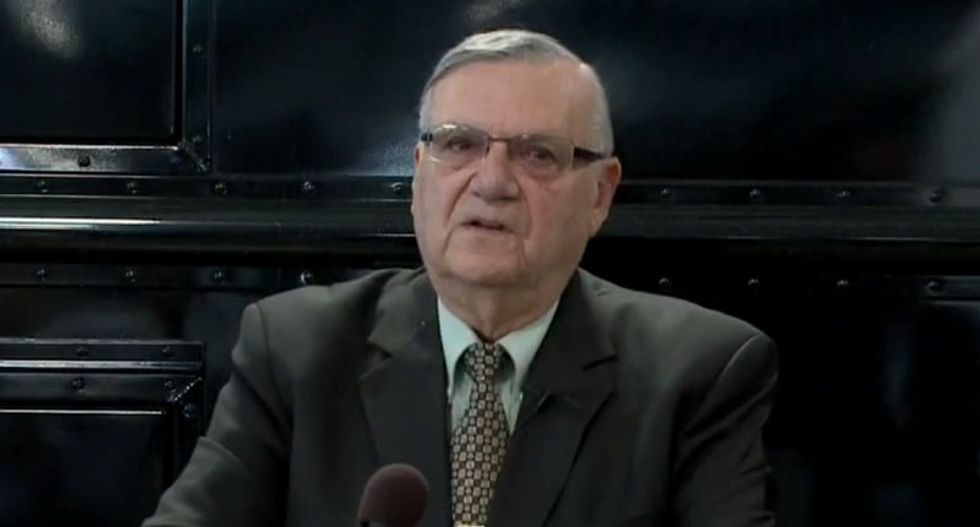 Sheriff Joe Arpaio: It's not my fault that my racial profiling program cost taxpayers $40 million