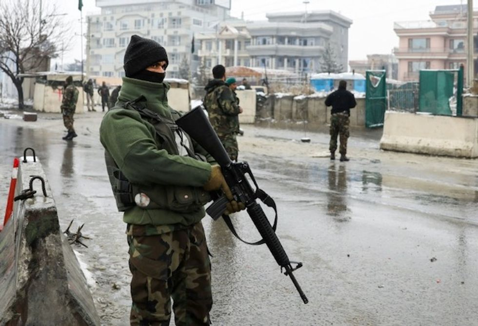 At least five dead in suicide attack on Afghan military academy