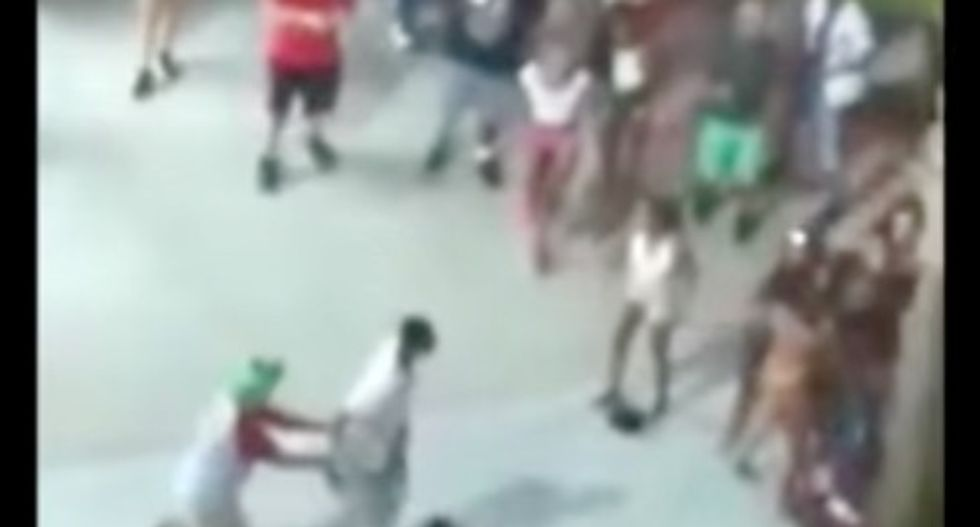 """A Myrtle Beach tourist streamed a terrifying shooting on Facebook Live from a balcony — """"Multiple people down!"""""""