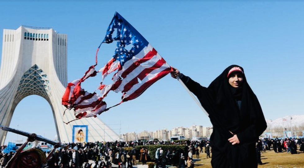 Iran taunts US on anniversary of shah's ouster