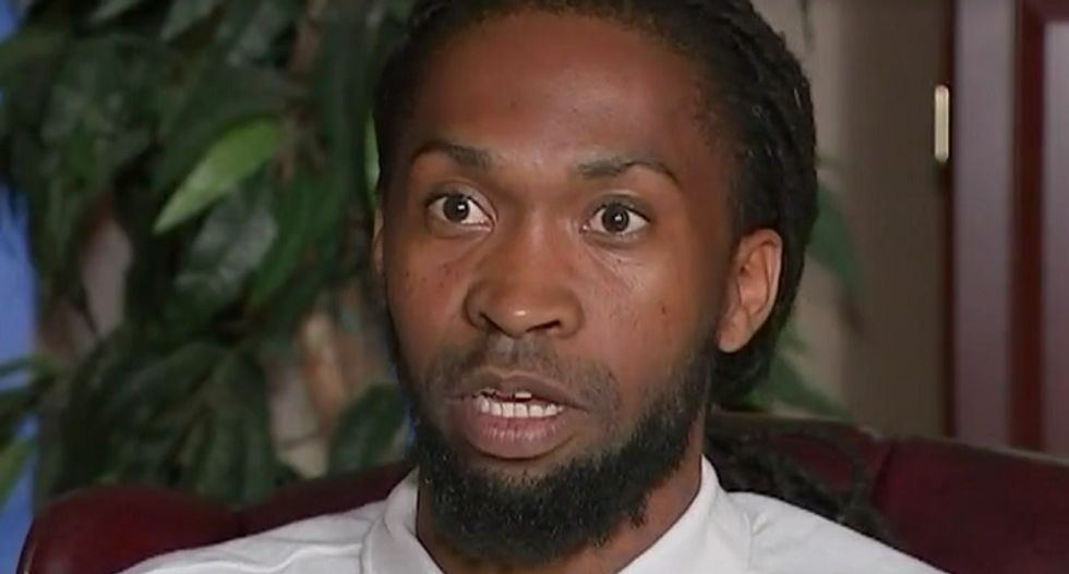 Florida cops pummel black man for walking into a store -- then charge him with resisting arrest