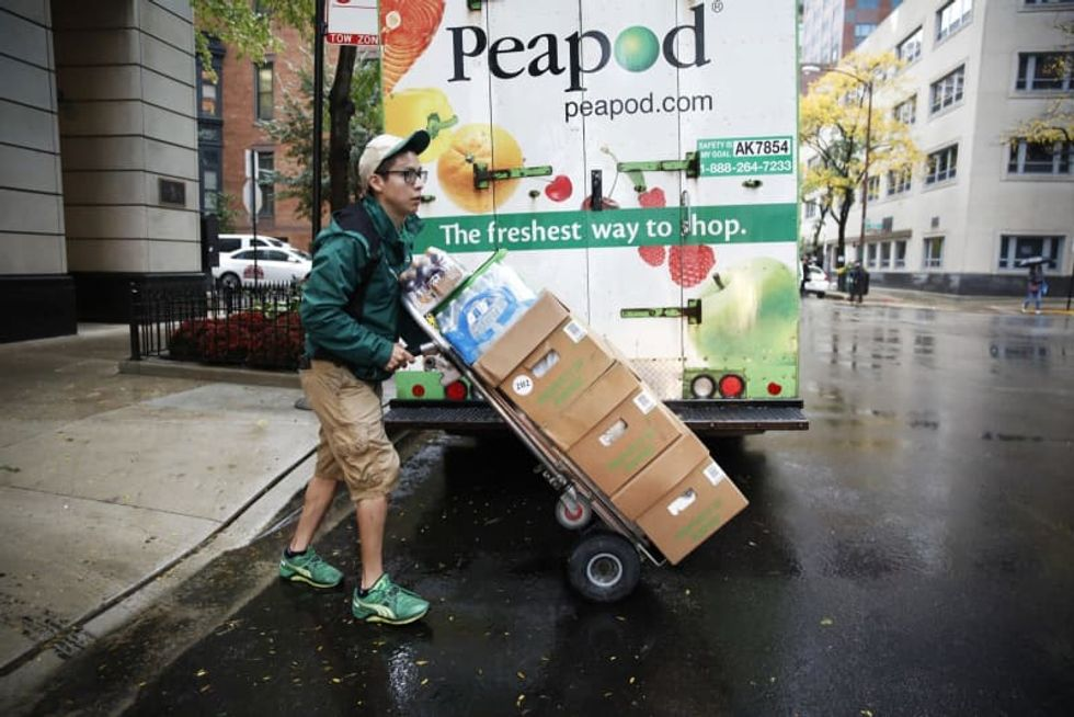 Peapod to shut down grocery delivery in the Midwest and cut 500 jobs