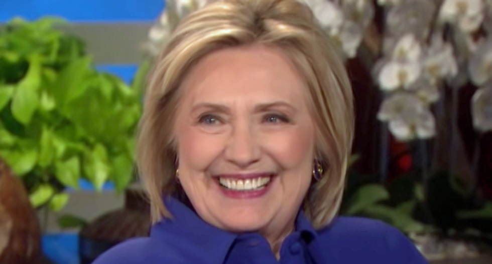 Hillary Clinton dunks on Trump for acting like a 'failed-state fascist' for intimidating Roger Stone's judge
