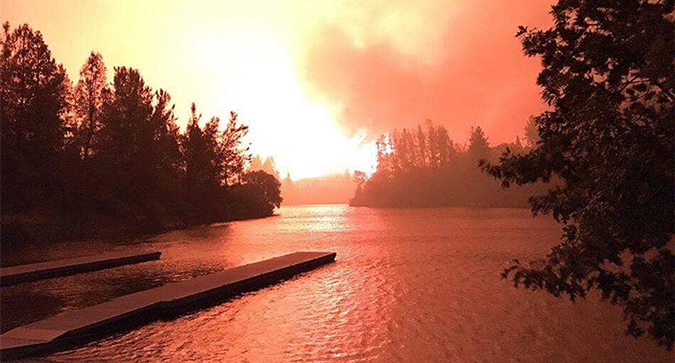 CalFire smacks down Donald Trump's conspiracy theory about water being diverted to the ocean instead of fighting Carr fire