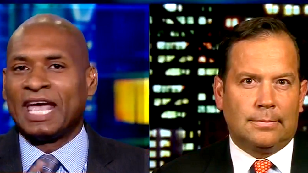 WATCH: Charles Blow schools Trump apologist over president's feud with Don Lemon and LeBron James