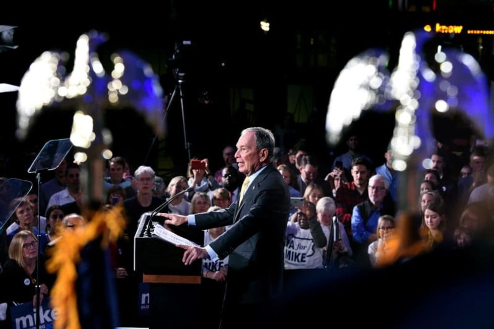 New Hampshire's winner? Mike Bloomberg -- as panicked Democrats flock to a billionaire