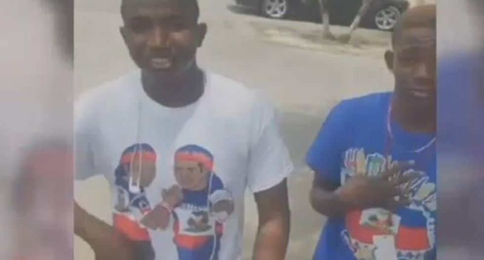 Florida school sends students home for wearing Haitian flag shirts on Haitian Flag Day