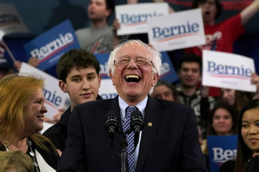'Get on the Bernie train': Sanders' supporters celebrate New Hampshire primary win