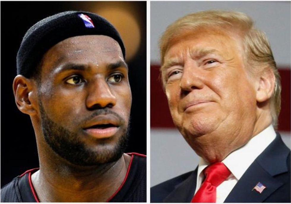 LeBron James praised by Ohio school district after Trump attack