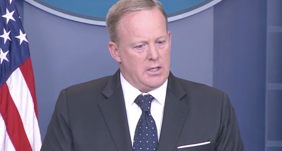 Sean Spicer: Trump wants a health care bill with 'heart in it' -- but he hasn't seen GOP plan