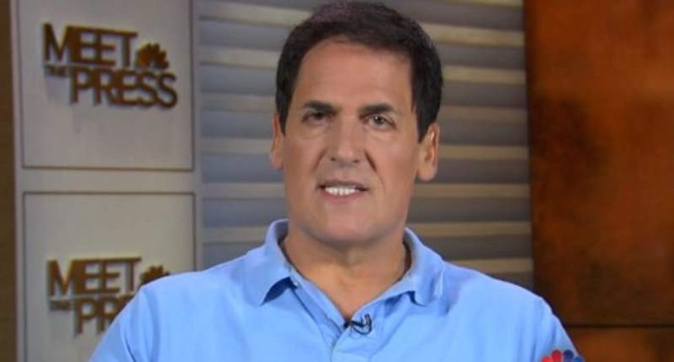 NBA owner Mark Cuban: I'd be Hillary's VP -- but Sanders has 'dragged her too far to the left'