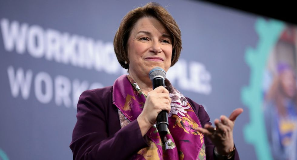 Amy Klobuchar shredded for trying to relate to union audience by saying her 'name in Spanish class was Elena'