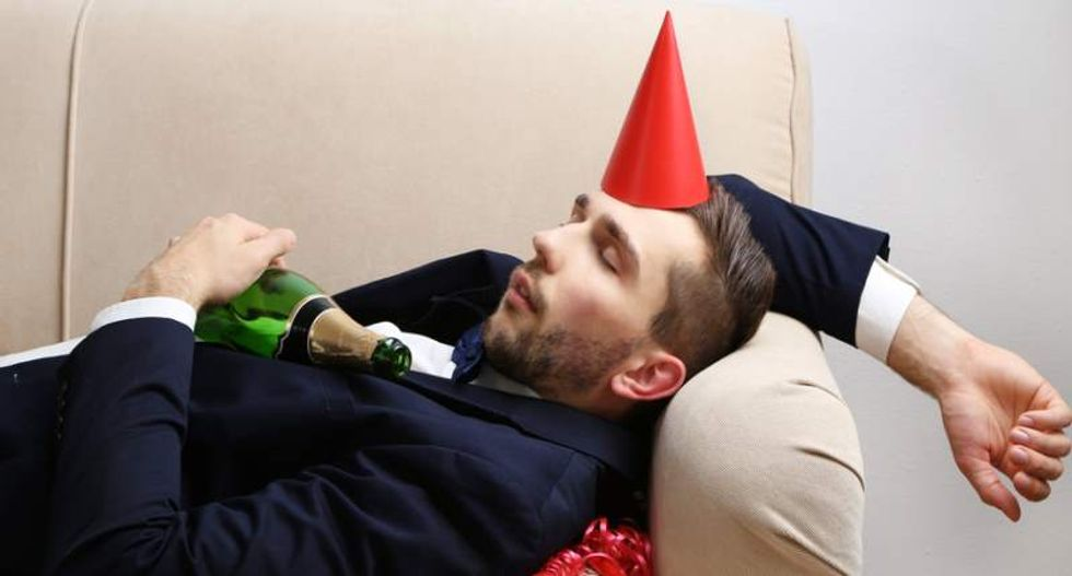 How science can help you prepare for a 4 a.m. 'rager' when you're in your 30s