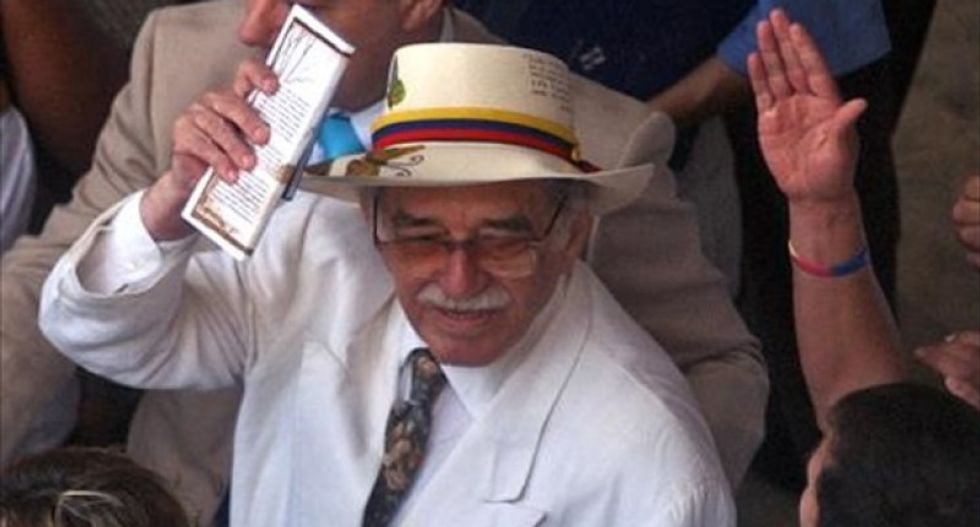 Ashes of Gabriel Garcia Marquez brought to Colombia to be laid to rest