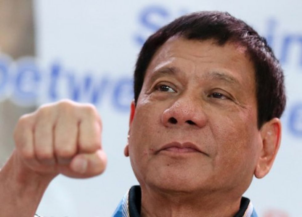Philippines' Duterte says he personally killed people