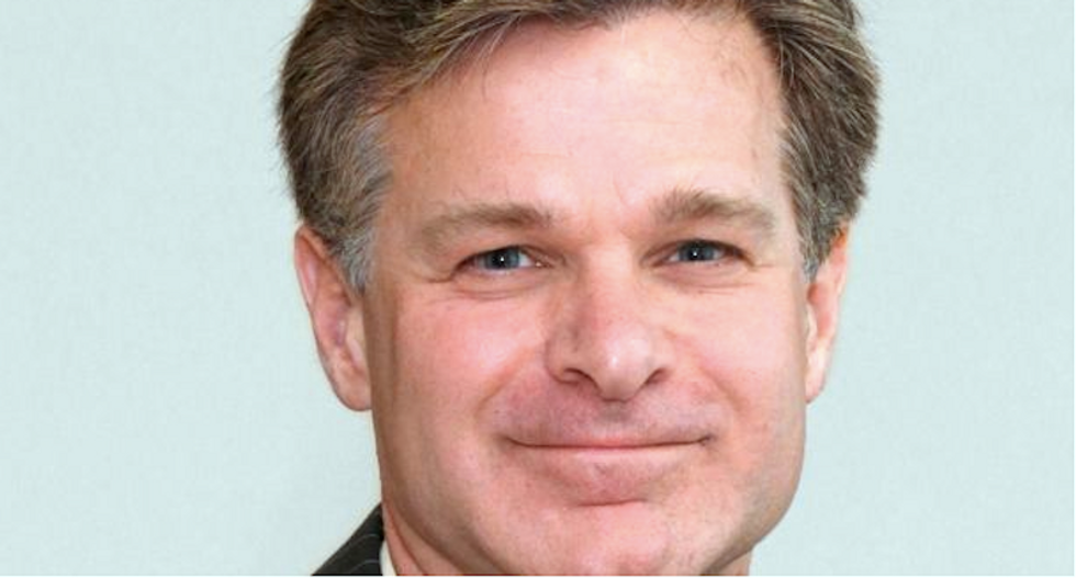 Trump's FBI nominee edited online bio to remove reference to legal case against Russia