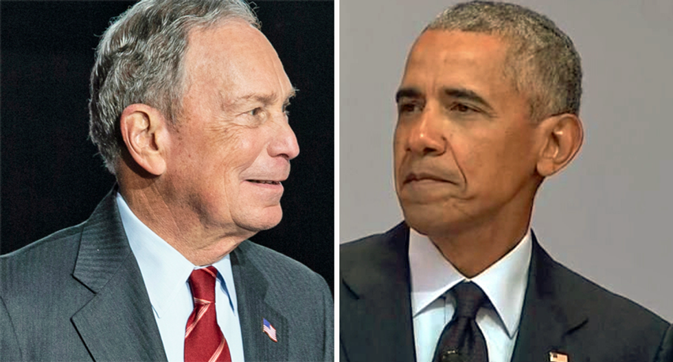 Mike Bloomberg ripped President Obama in 2016 for failing to bridge racial divisions: 'That's his job'