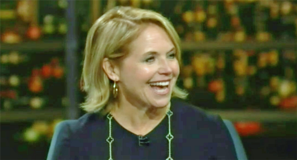 Katie Couric broke news about Trump on 'Real Time' — and it is hilarious
