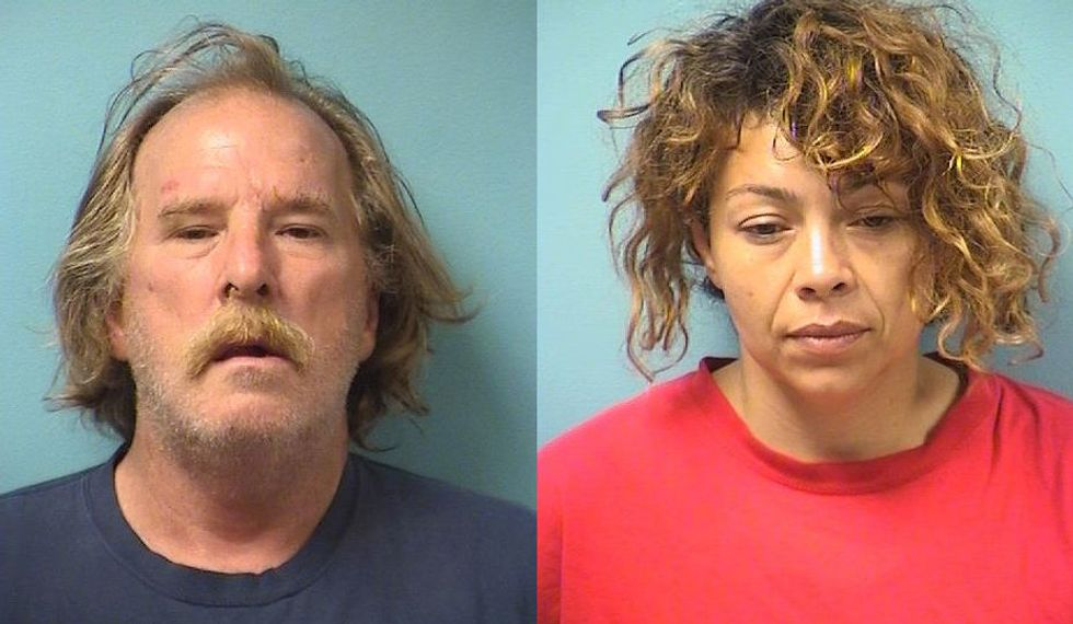 Racist couple held black man on the ground and threatened to run him over with their truck: police
