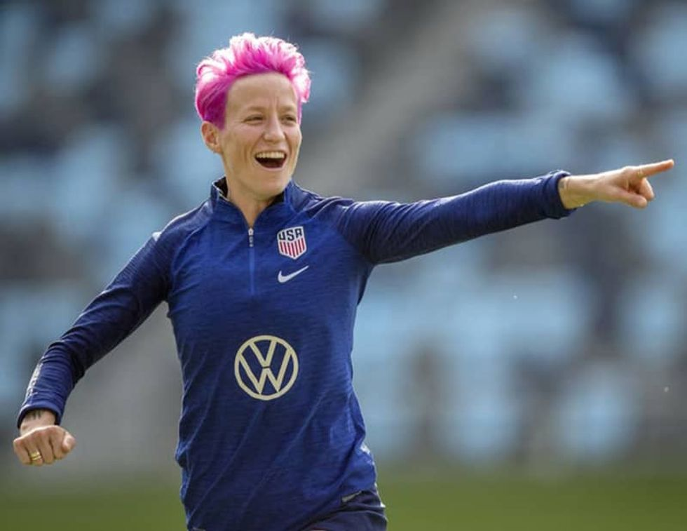 Soccer star Megan Rapinoe on running for office: 'Never say never'