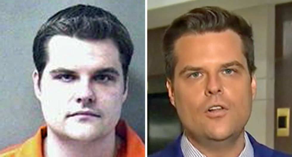 Internet burns Matt Gaetz to the ground for whining McCabe didn't end up 'behind bars'