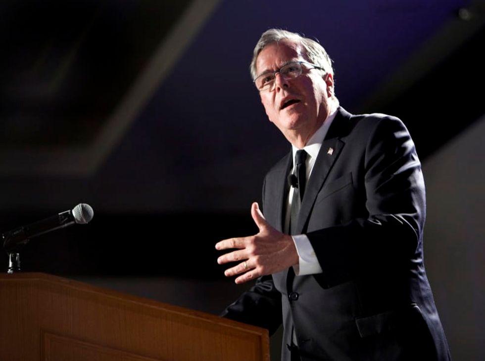Jeb Bush urges return to civility in politics and criticizes Trump's financial 'malpractice'
