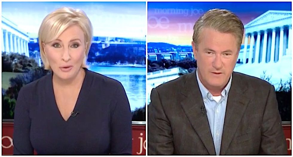 MSNBC's Morning Joe and Mika troll Donald Trump with brutal fact-check of his jealous attacks on Obama