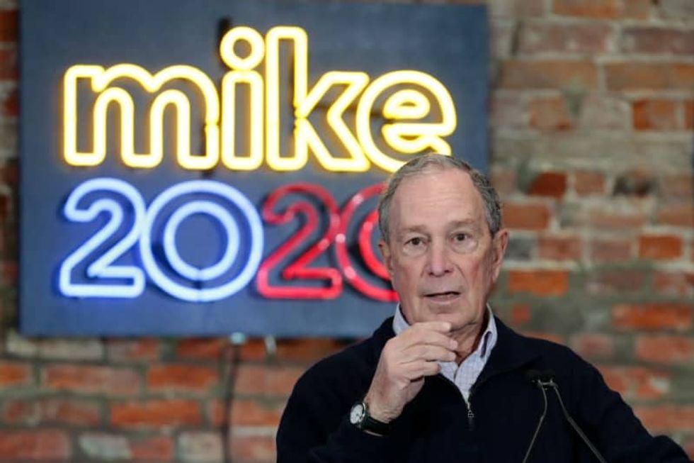 Bloomberg qualifies for Wednesday's Democratic debate