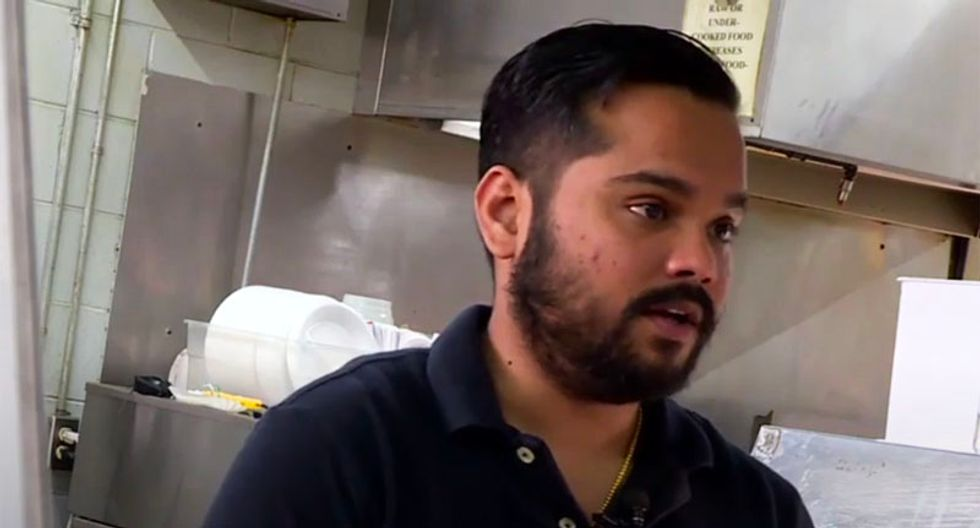 Ambulance worker accuses Indian family of being Al Qaeda terrorists after eating at their restaurant